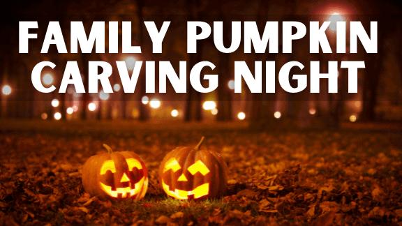 FAMILY PUMPKIN CARVING NIGHT (1)